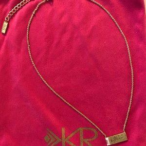 Silpada KR Crossbar Necklace